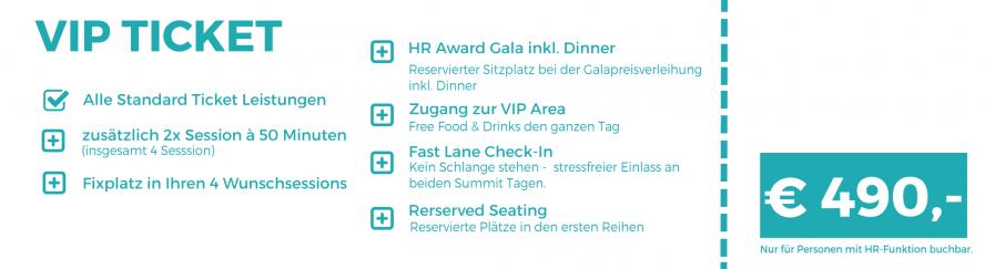 VIP Ticket - 490€