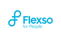 Logo unseres Partners Flexso - for People